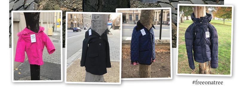 Des manteaux pousseront aux arbres pour les personnes dans le besoin | 26 novembre 2018 | Article par Suzie Genest