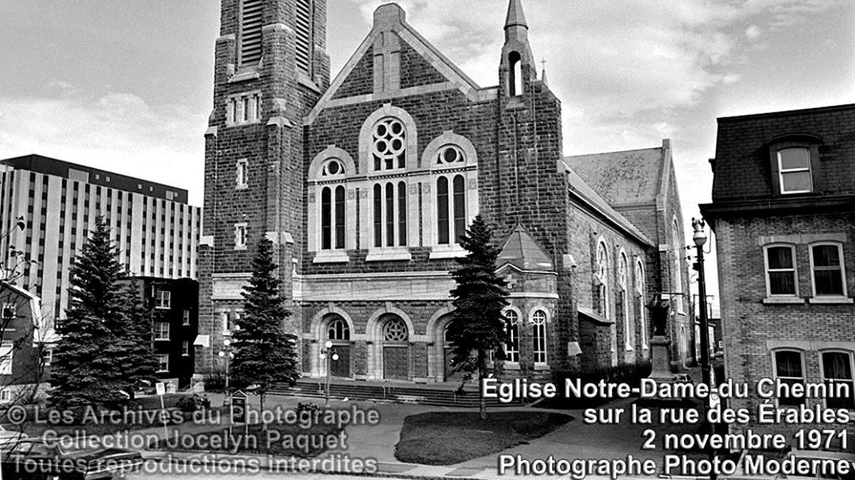 Montcalm dans les années 1970 : l'église Notre-Dame-du-Chemin | 18 mai 2019 | Article par Jean Cazes