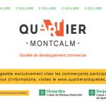 Dollars Quartier | SDC Montcalm – Quartier des arts de Québec