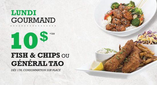 Lundi Gourmand | Blaxton Cartier – Restaurant Pub et Grill