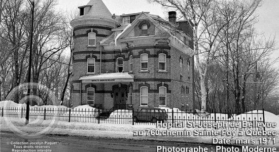 Montcalm dans les années 1970 : l'hôpital St-Joseph de Bellevue - Jean Cazes