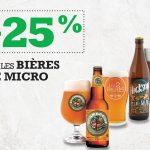 -25% sur les bières de microbrasseries - Blaxton Cartier - Restaurant Pub et Grill