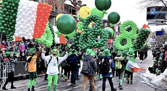 Un 10e défilé sans temps mort pour la Saint-Patrick sur Cartier - Jason Duval