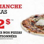 Dimanche : Pizzas sélectionnées à 12$ - Blaxton Cartier - Restaurant Pub et Grill