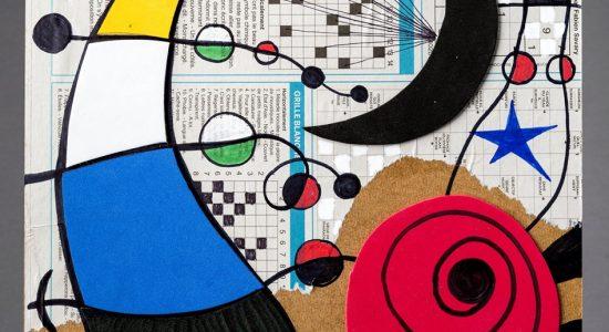 A la manière libre de Miró | Atelier de collage et de dessin