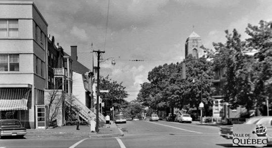 Montcalm dans les années 1960 : avenue des Érables - Jean Cazes