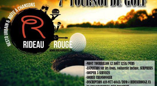 7ieme tournoi de golf