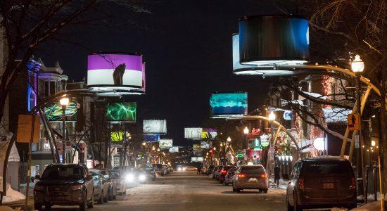 Lumière sur l'art édition 2018-2019 | Parcours sur l'avenue Cartier
