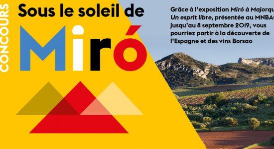 Concours | Sous le soleil de Miró | Musée national des beaux-arts du Québec