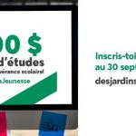 Programme de bourses jeunesse - Desjardins - Caisse du Plateau Montcalm