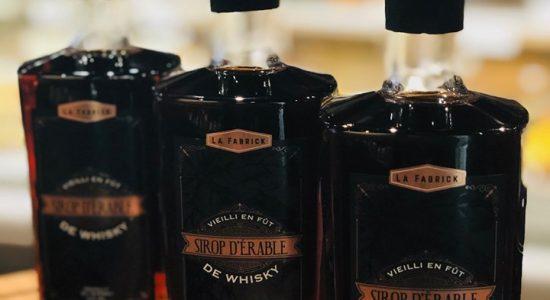 Le sirop d'érable vieilli en fût de whisky disponible | Café Les Cousins