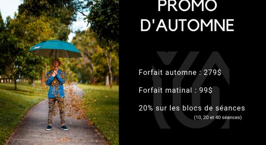 Promo d'automne | Station Yoga  (La)