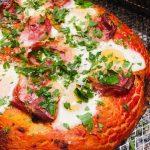 Focaccia Barese aux œufs et pancetta - Il Cuginetto - Comptoir italien