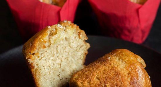 Muffins aux pommes   Moulins La Fayette (Les)