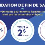 Liquidation de fin de saison | Ecoboutique - YWCA Québec