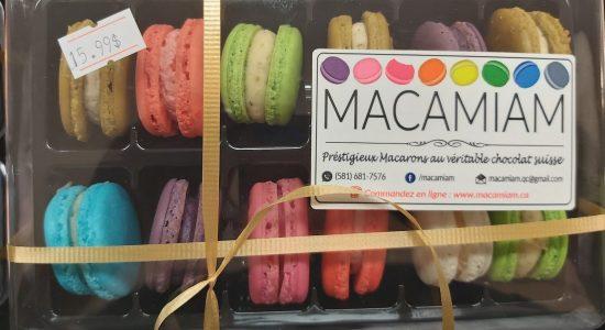 Macarons Macamiam | Marjane | Boucherie – Épicerie – Traiteur