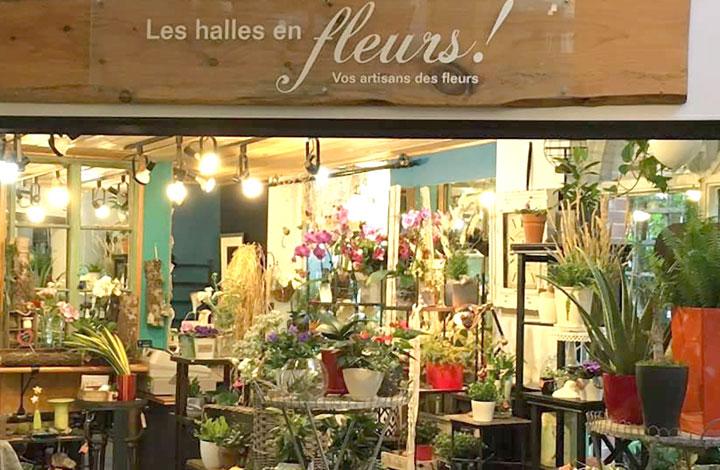 Les Clématites »Pirouettes'   Halles en fleurs (Les)