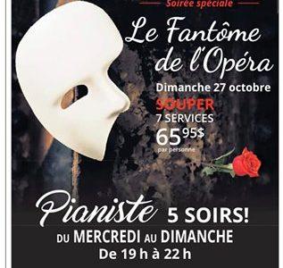 La fantôme de l'Opéra | Soirée spéciale
