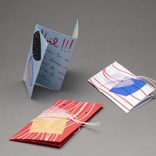 Cartes de souhaits | Atelier de dessin et de collage