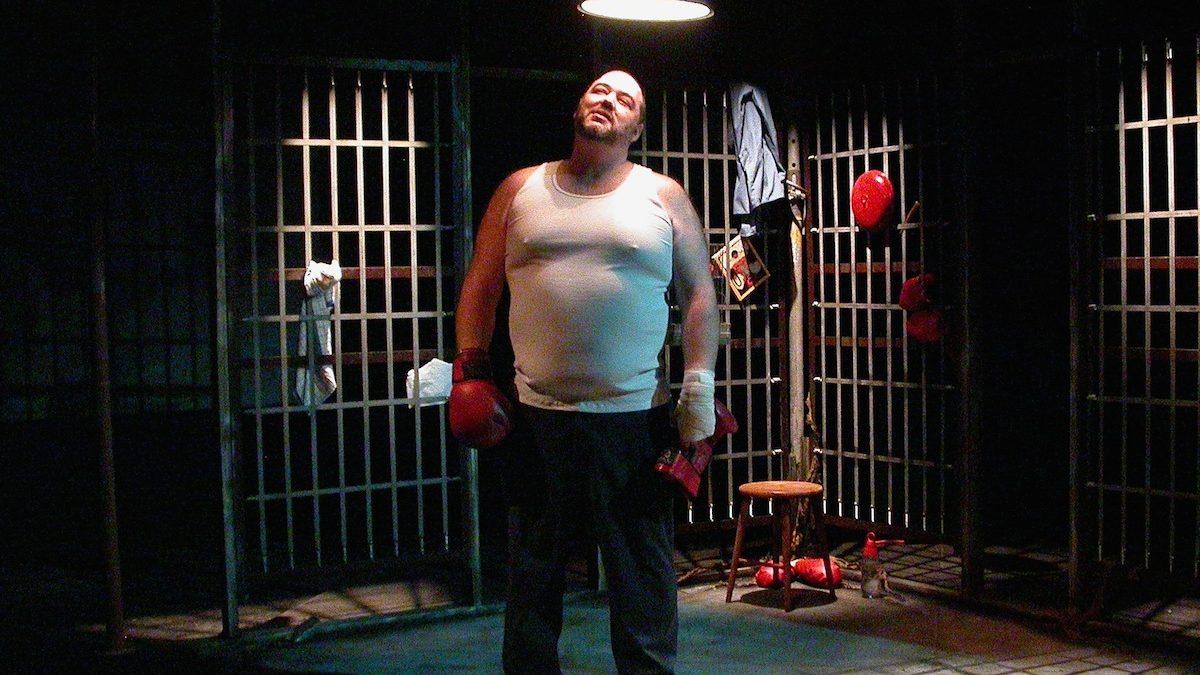Patrick Saucier, artiste reconnu, faisait son premier solo, issu de son premier texte… C'est aussi ça, Premier acte. Le Boxeur. Saison 2007-2008