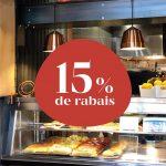 15% de rabais pour votre prochain achat chez Il Cuginetto - Café Les Cousins