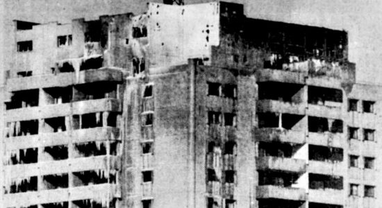 Montcalm dans les années 1980 : incendie majeur à l'édifice Le St-Laurent - Jean Cazes