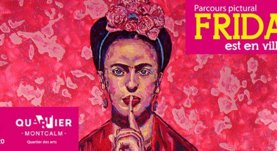 Parcours pictural: Frida est en ville