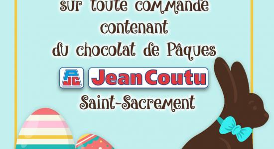 Livraison gratuite à l'achat de chocolat de Pâques   Jean Coutu – Katherine Harrison & Karen Ann O'Grady