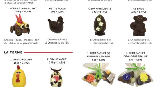 Livraison de chocolats de Pâques   Moulins La Fayette (Les)