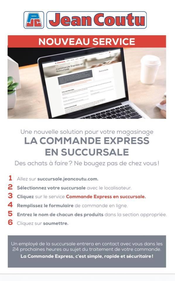 Nouveau service: La commande express en succursale | Jean Coutu – Katherine Harrison & Karen Ann O'Grady