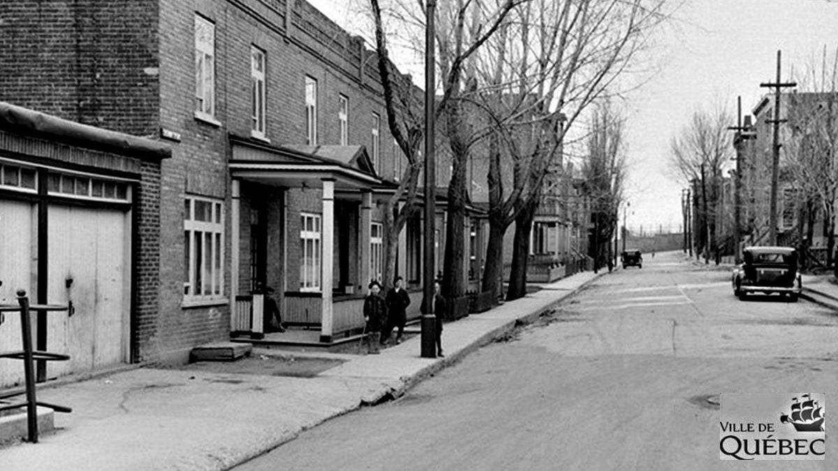 Montcalm dans les années 1940 : la rue Jeanne-d'Arc | 9 août 2020 | Article par Jean Cazes