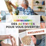 Activités en ligne Cogir - St-Patrick (Le)
