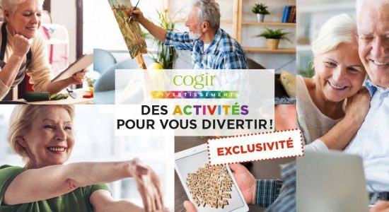 Activités en ligne Cogir | St-Patrick (Le)