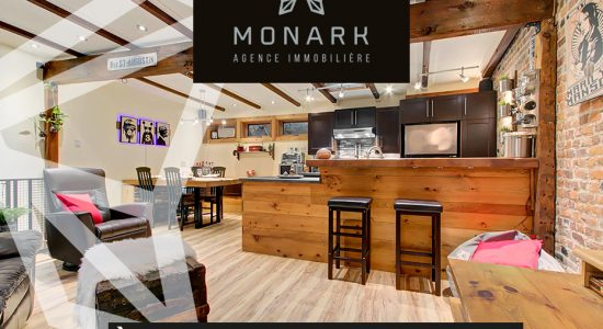 Condo à vendre rue St-Jean – 249 900 $ | Monark agence immobilière