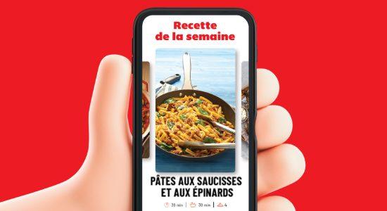 Planificateur de repas | IGA Deschênes