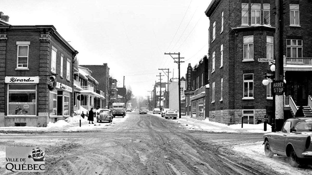 Montcalm dans les années 1960 : intersection avenue Bourlamaque et boulevard Saint-Cyrille | 24 janvier 2021 | Article par Jean Cazes