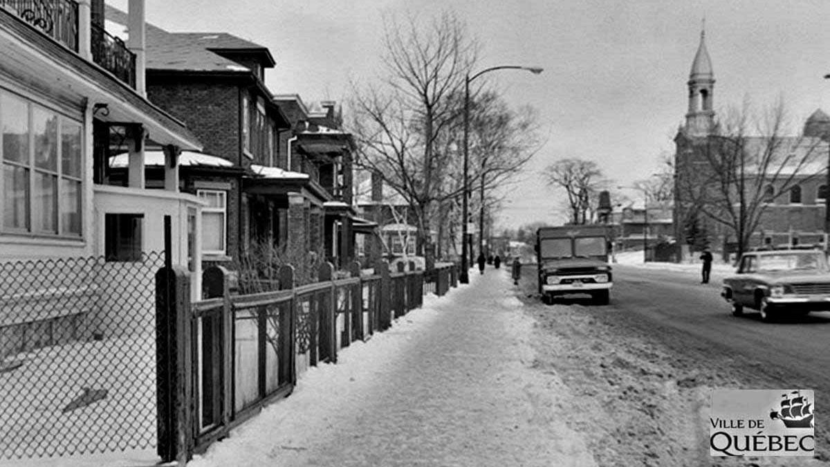 Montcalm dans les années 1960 : le chemin Sainte-Foy au niveau de l'avenue Casot | 7 février 2021 | Article par Jean Cazes