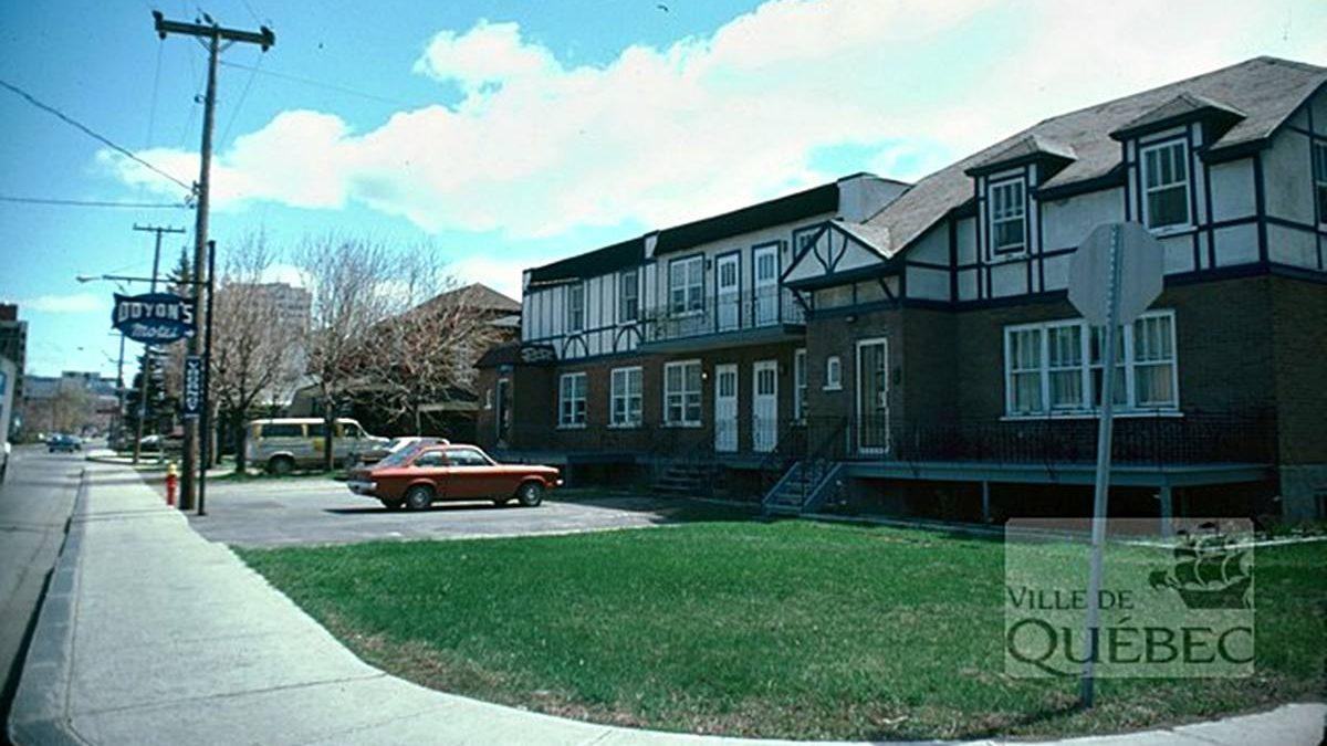 Saint-Sacrement dans les années 1970 : le motel Doyon | 3 janvier 2021 | Article par Jean Cazes