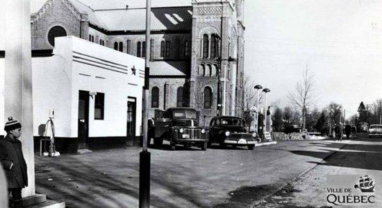 Saint-Sacrement dans les années 1950 : angle chemin Sainte-Foy – avenue Saint-Sacrement - Jean Cazes