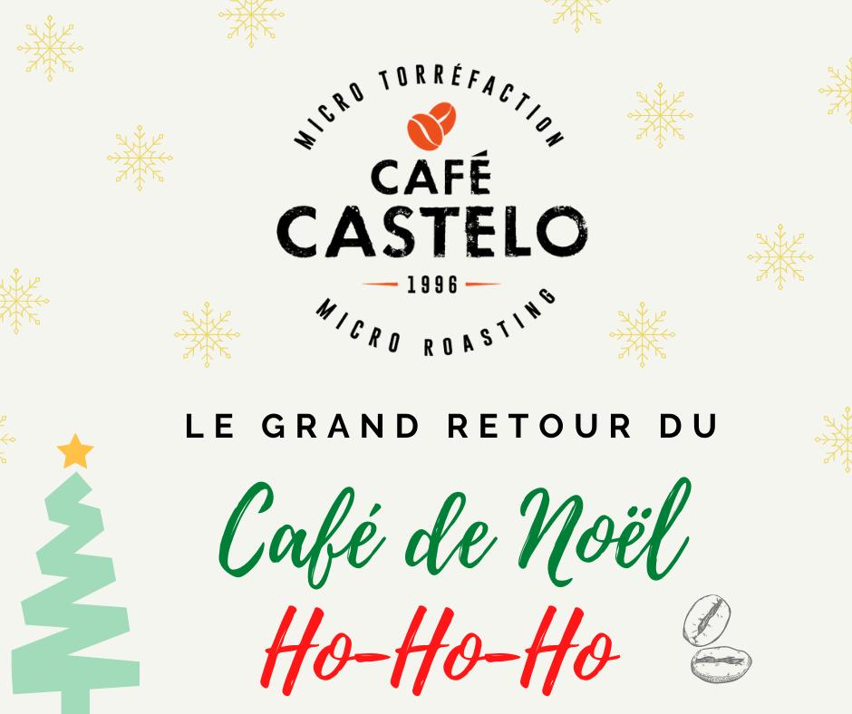 Café de Noël | Café Castelo Maison de torréfaction