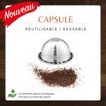Traitement Castelo – Capsules réutilisables - Café Castelo Maison de torréfaction