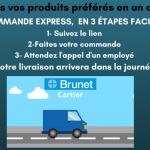 Commande express - Brunet Gilles-Bégin