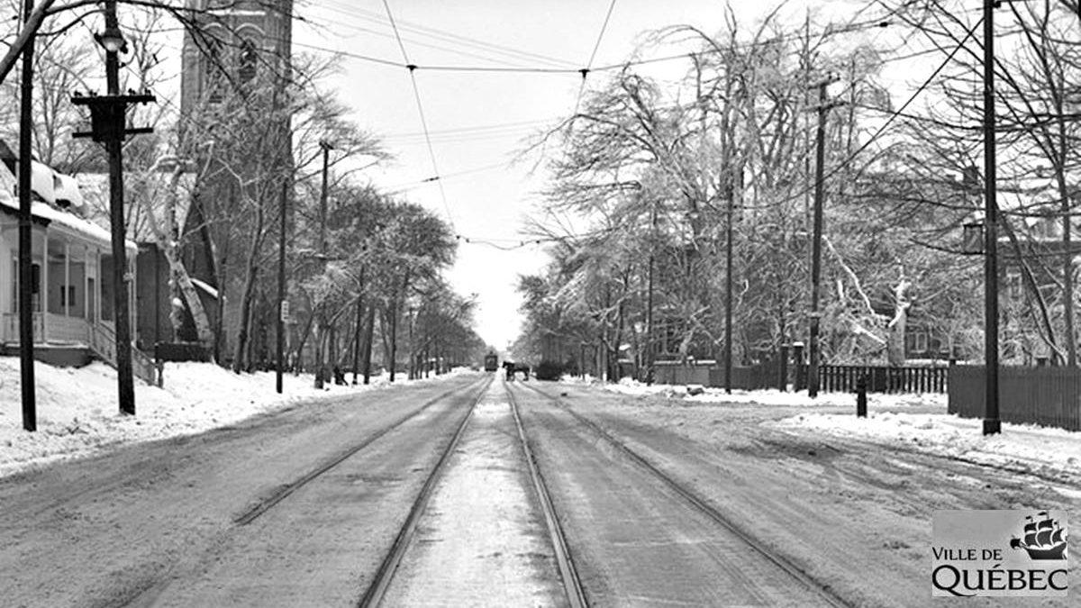 Montcalm dans les années 1940 : une Grande Allée verglacée | 14 mars 2021 | Article par Jean Cazes