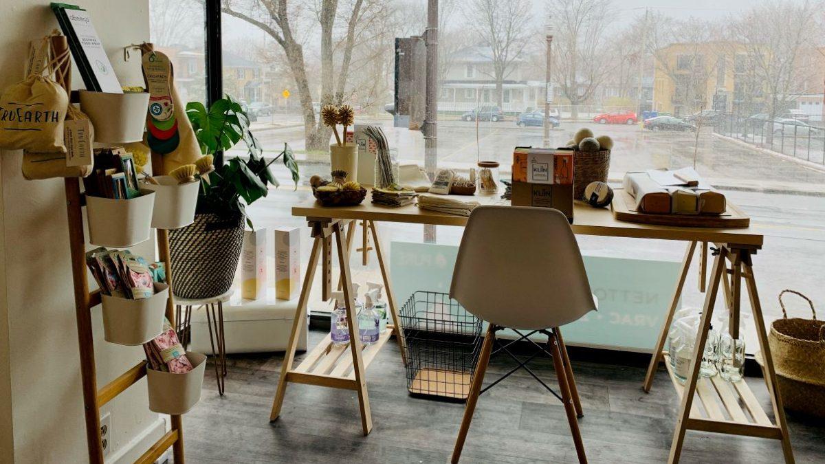 Nouvelle boutique de produits naturels et en vrac dans Saint-Sacrement | 28 avril 2021 | Article par Julie Rheaume