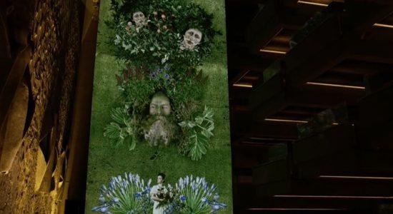 Une fresque vivante à voir au Grand Théâtre - Monmontcalm