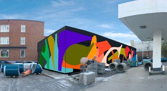 Une œuvre d'art bientôt sur le site de l'ancien Shell - Julie Rheaume