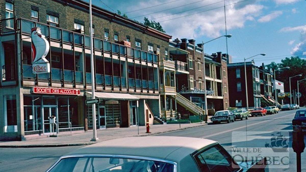 Montcalm dans les années 1970 : l'avenue Cartier et sa SAQ | 13 juin 2021 | Article par Jean Cazes