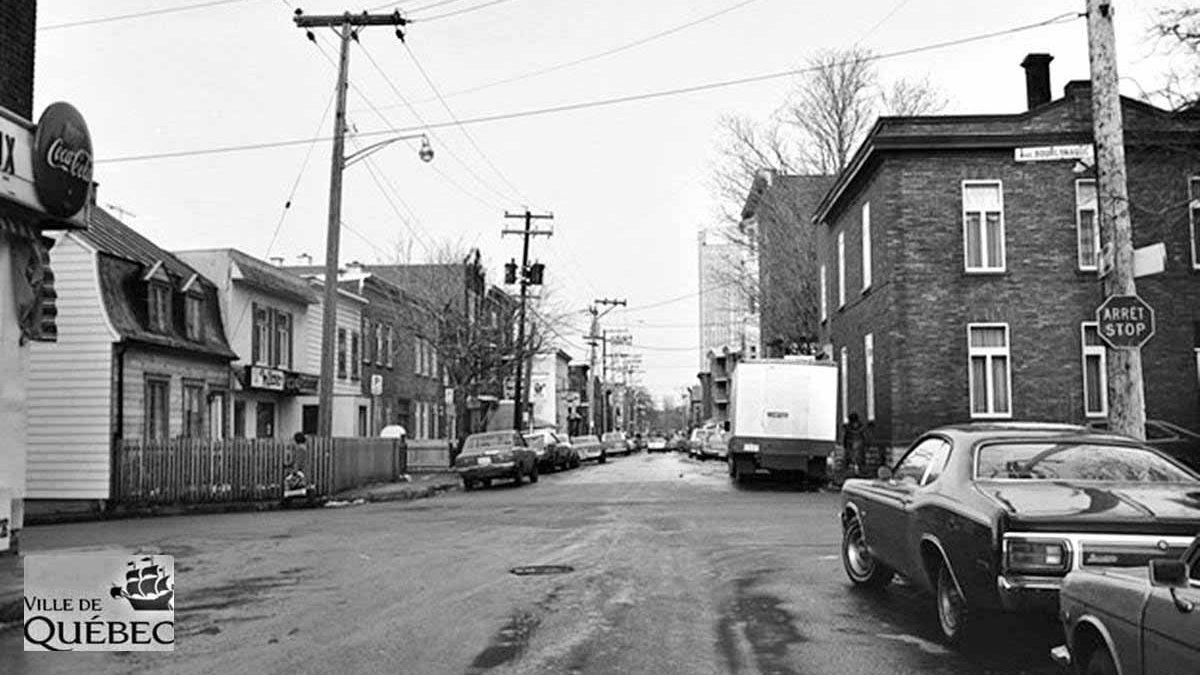 Montcalm dans les années 1970 : intersection rue Crémazie et avenue Bourlamaque   29 août 2021   Article par Jean Cazes