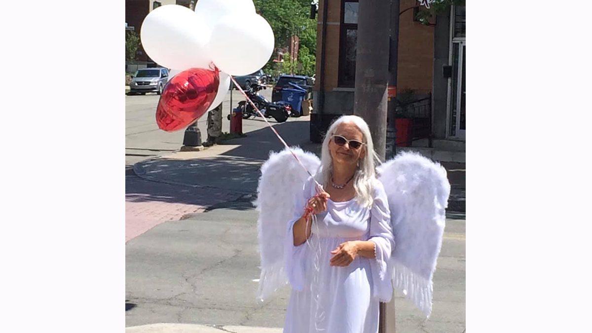 Un ange pour la sécurité routière dans Saint-Sacrement | 8 juin 2021 | Article par Suzie Genest