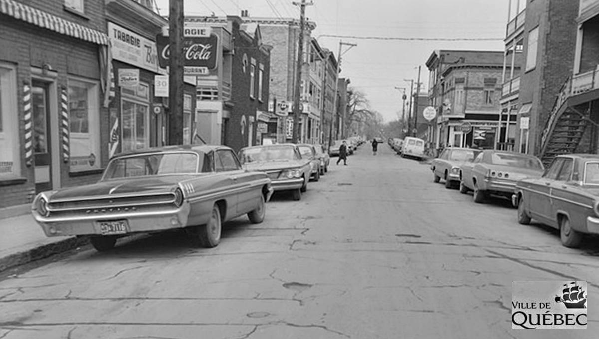 Montcalm dans les années 1960 : rue Crémazie, près de l'avenue Cartier - Jean Cazes